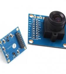 ماژول دوربین رنگی OV7670 قابل اتصال به میکروکنترلرها
