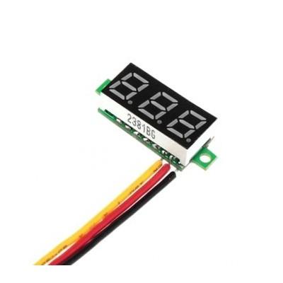 ماژول ولت متر به همراه نمایشگر دیجیتال 0 تا 100 ولت DC