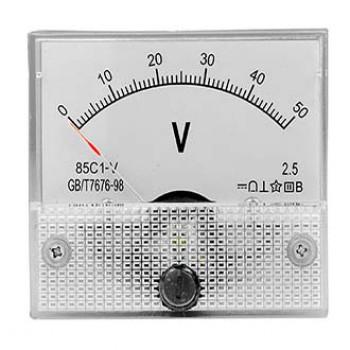 ولت متر عقربه ای آنالوگ - 50 ولت DC