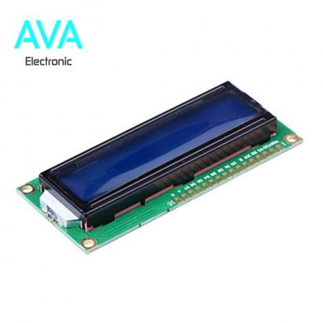 LCD کاراکتری 16*2 بک لایت آبی